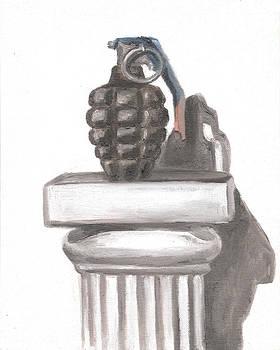 Hand Grenade by Jeffrey Oleniacz