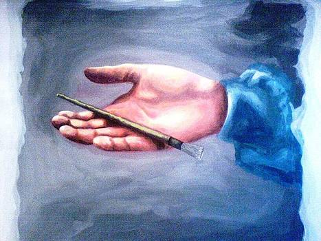 Hand Of A Painter by Wedam Abassey