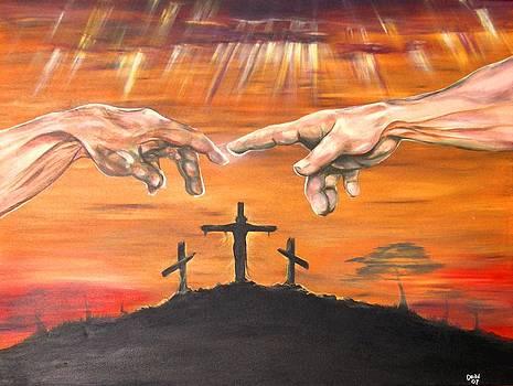 Hands Across Crosses by Christine Maeda