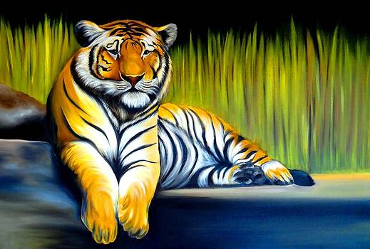 Xafira Mendonsa - Handsome Tiger