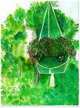 Hanging Basket by David Bartsch