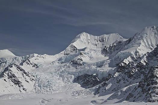 Hanging Glacier by Donna Quante