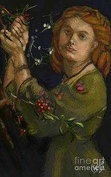 Hanging the Mistletoe by Carrie Joy Byrnes
