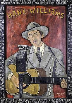 Hank Williams by Eric Cunningham