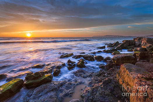 Hanover Point Sunset by English Landscapes