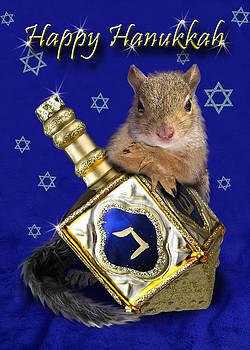 Jeanette K - Hanukkah Squirrel