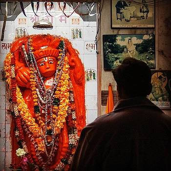 Hanuman Devotee by Hitendra SINKAR