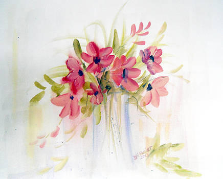 Happiness In A Vase by Dorothy Maier