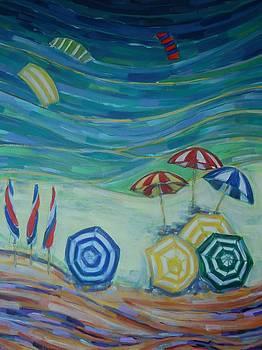 Happiness on the Bay 2 by Zofia  Kijak