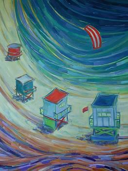 Happiness on the Bay by Zofia  Kijak