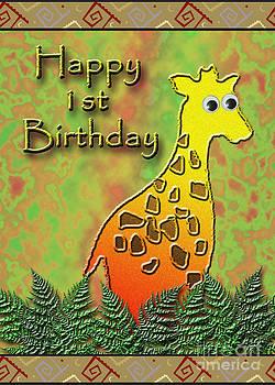 Jeanette K - Happy 1st Birthday Giraffe