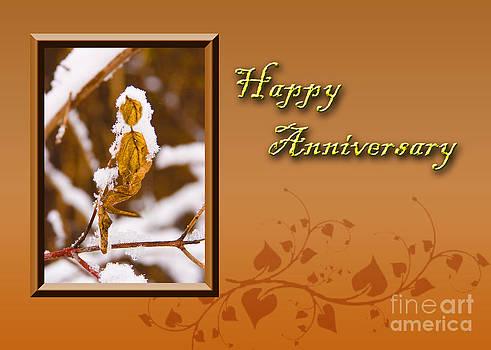 Jeanette K - Happy Anniversary Leaf