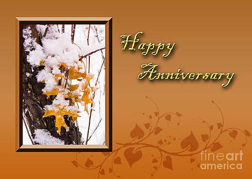 Jeanette K - Happy Anniversary Leaves
