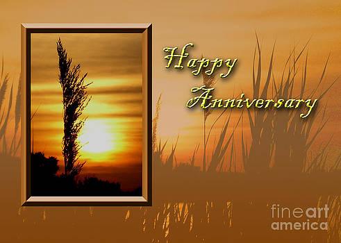 Jeanette K - Happy Anniversary Sunset