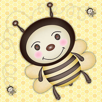 Happy Bee by Khiet Bui