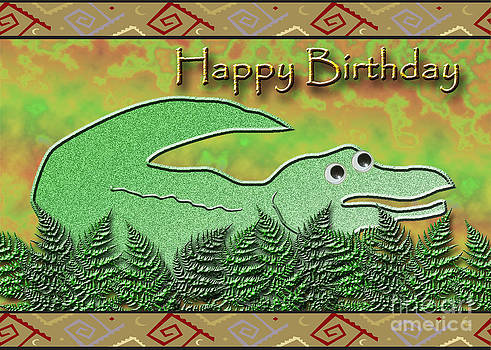 Jeanette K - Happy Birthday Alligator