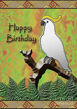 Jeanette K - Happy birthday Cockatoo