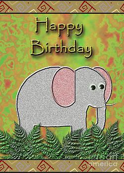 Jeanette K - Happy Birthday Elephant