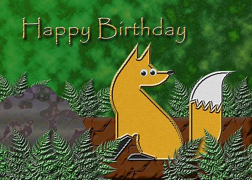 Jeanette K - Happy Birthday Fox