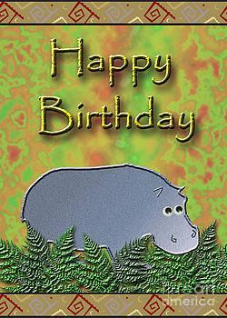 Jeanette K - Happy Birthday Hippo