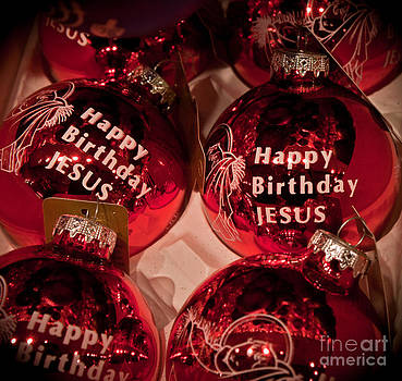 Happy Birthday Jesus by Joann Copeland-Paul