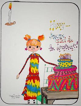 Happy Birthday by Mary Kay De Jesus