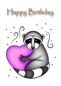 Jeanette K - Happy Birthday Raccoon