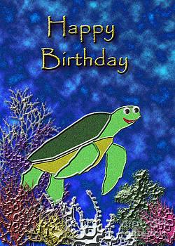 Jeanette K - Happy Birthday Sea Turtle