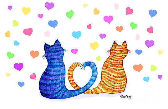 Nick Gustafson - Happy Cats and Hearts