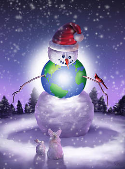 Happy Christmas World by Jessica LeClerc