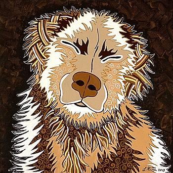 Happy Dog by Lisa Frances Judd