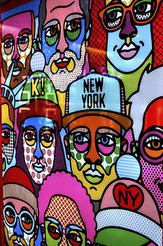 Happy faces happy places New York by Ian  Ramsay