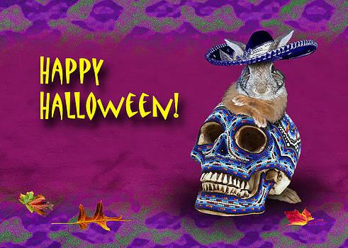 Jeanette K - Happy Halloween Bunny Rabbit