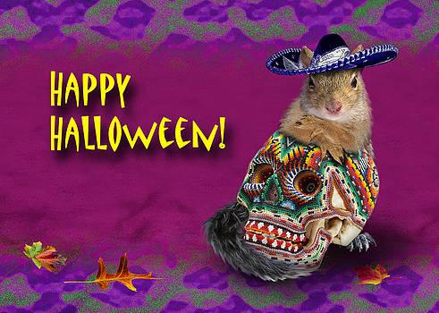 Jeanette K - Happy Halloween Squirrel
