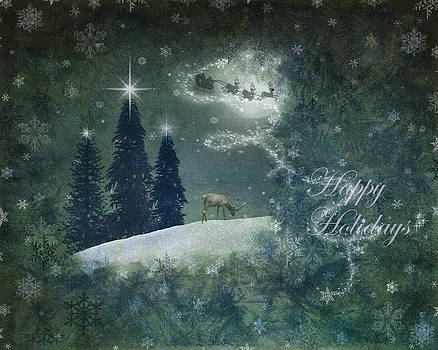 Happy Holidays by Marie  Gale