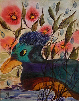 Happy Little Duck by Shirley Watts