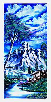 Happy Mountain  by Shirwan Ahmed