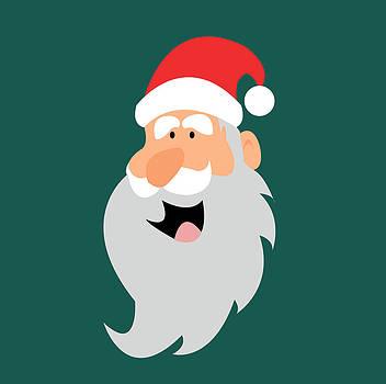 Happy Santa by Kenneth Feliciano
