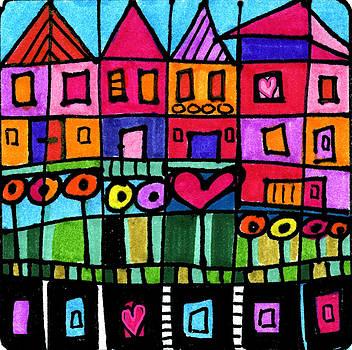 Happy Town by Dora Ficher