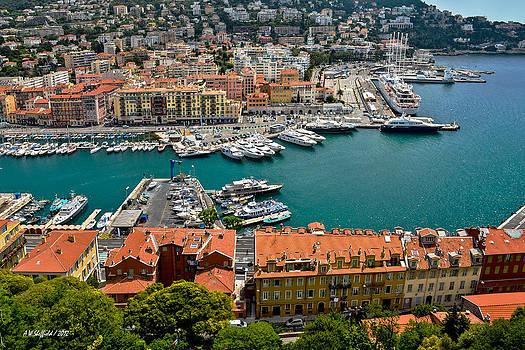 Allen Sheffield - Harbor at Nice France