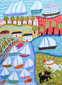 Harbor Dog Park by Karen Fields