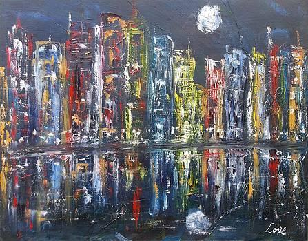 Harbor Moonlight by Joseph Love