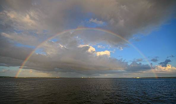 Harbor Rainbow by Eric Haggart