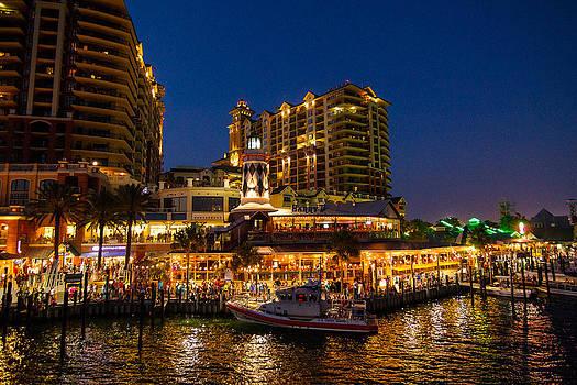 Harbor Walk Destin Florida by Paul Bartoszek