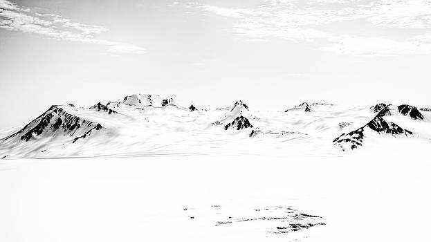 Harding Ice Field by Daniel Sands