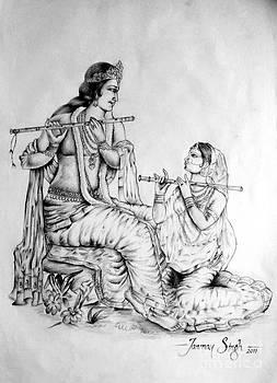 Hare Krishna by Tanmay Singh