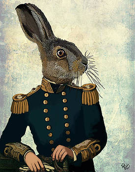 Hare Lieutenant Hare by Kelly McLaughlan