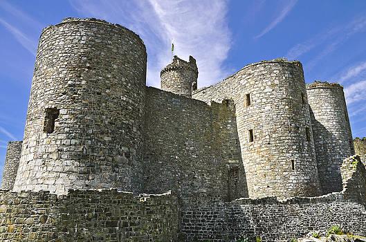 Harlech Castle Wales by Jane McIlroy