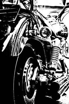 Harley in Mono by Edward Khutoretskiy
