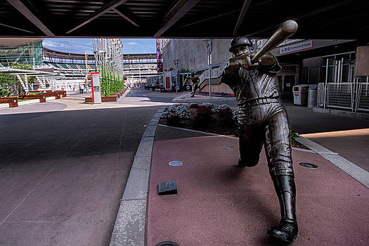 Harmon Killebrew Statue and Target Field by Tom Gort